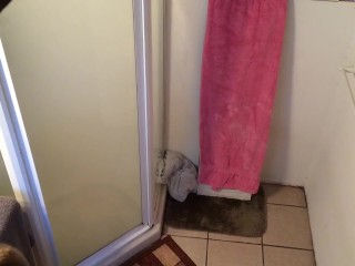 Shower Fleshlight Fuck - Hidden Cam
