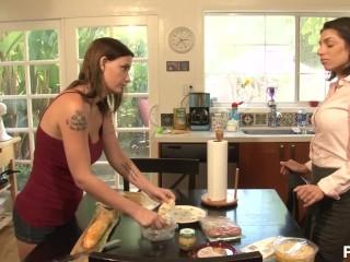 My First Lesbian Taste - Scene 4
