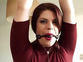 British redhead subslut Lucia Love anally hammered rough