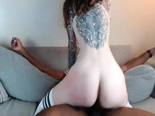 Riding My New Step Brother - Shes Live on CAM26,COM