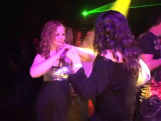 Nasty girls like to dance on the stage