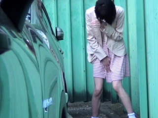 Asian babes squirt pee