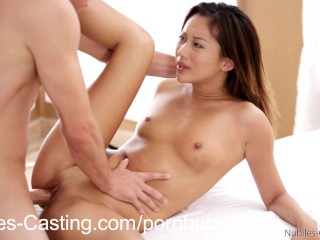 NubilesCasting Fuck her tight twat till it squirts
