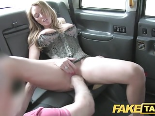 Fake Taxi hard sex and rimming before facial cumshot