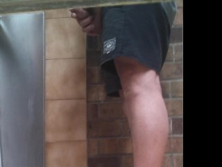 Piss Trough Spycam a couple of guys at the troughs