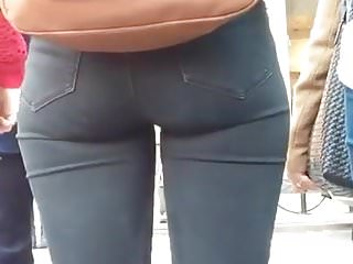 Perfect Fitness Ass, NYC, Tight Jeans