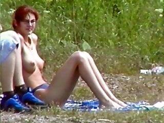 BeachLove - Dixi with puffy tits