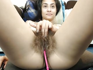 Fabulous hairy pussy