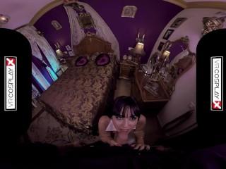 VRCosplayX.com Busty Latina Vampirella Alba De Silva Has Cumlust