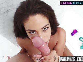 Jamie Valentine - Busty Colombians Sweet Striptease - Latina