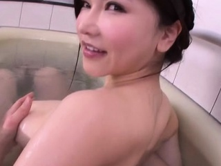 Perverted beauty widens legs gets poked