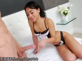 AnalAcrobats Petite Horndog Creamed and Reamed