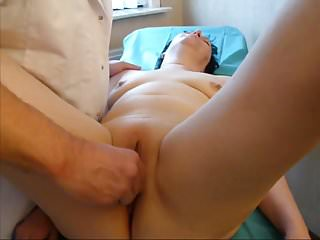 Stimulation on the gynecological table