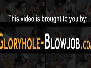 Gloryhole milf facialized