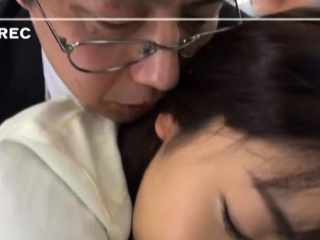Oriental playgirl is having fun with her sexy male boss