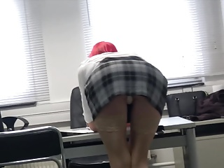 SexyKlara - in the office