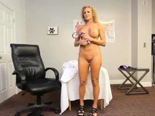 Dr.Jade Jamison gets herself huge black cock!