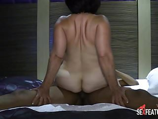 Sex Features - Hot Latina Milf Creampie By Foreigner