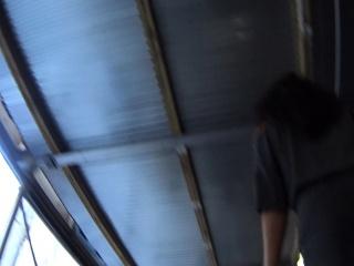 Pursuit upskirt by the hidden camera