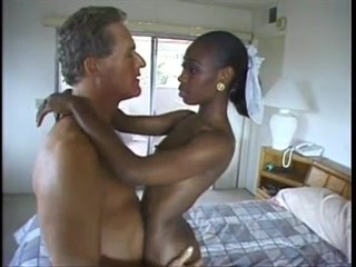 she LIKES his dick (cute black newbie can't stop cumming)