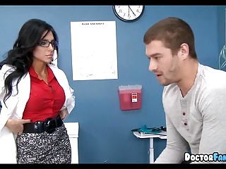 Doctor lets Her Patient do what He wants