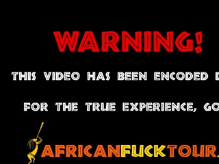 African Slut Aisha Fucked By White Cock