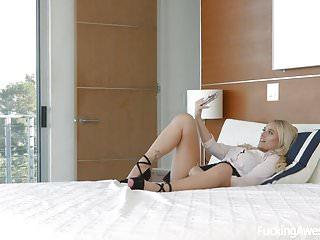 Fucking Awesome - Alexis Monroe gets caught masturbating