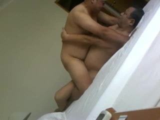 asian daddy and son make love