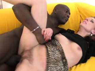 Black guy gets some white pussy