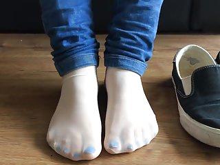 Jennifer Feets - Socks and Jeans