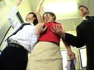 Big boobs Milf without a bra on train - Pt2 On HDMilfCam.com
