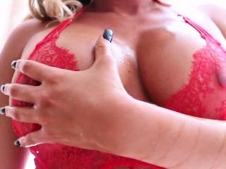 Samantha Saint Sucks A Cock