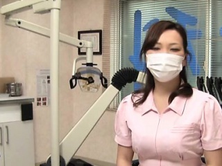 Sexy nurse gets pantoons licked and screwed in lots of poses