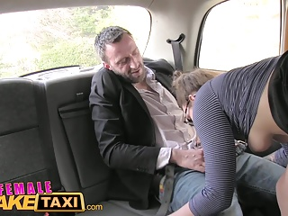 Female Fake Taxi Belgium porn stud fucks sexy cabbie