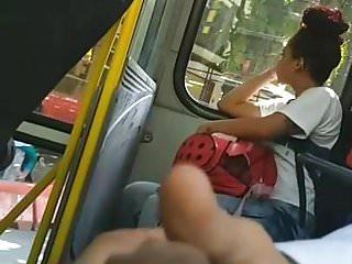 Masturbation in bus 25