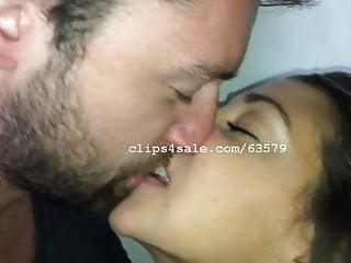 Dave and Samantha Kissing Video 1