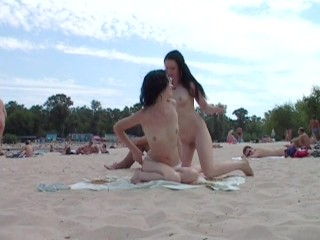 I meet with this couple from time to time at a local nudist beach