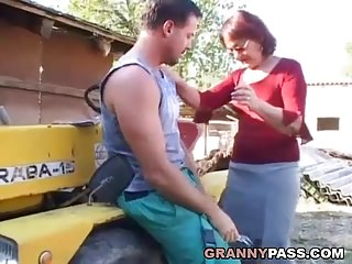 Granny Fucks Maybe For The Last Time