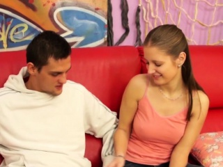 Shlong sucking dutch teen