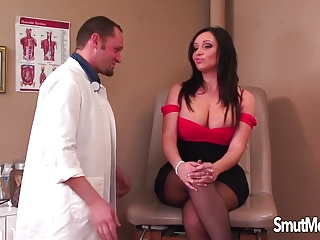 Doctors office creampie