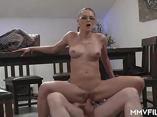 Horny Milf Secretary shags her boss