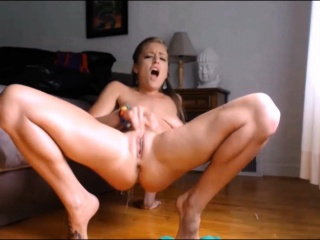 Must see! Multiple squirting orgasm camshow