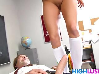 Hard dick for schoolgirl Hope Howell