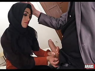 Arab sucks thick dick
