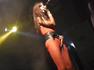 kinky russian girl nudity on stage club concert 3