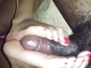 SWEETFEETJERZ RED TOES FOOTJOB