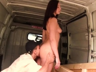 Teen cums all over cock After delivering the yam-sized boxes