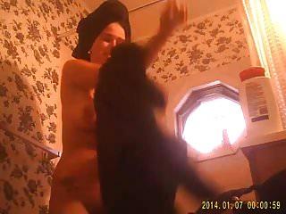 Bathroom hidden cam 2 of 5