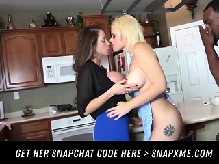 Steaming Hot Threesome HER SNAPCHAT HERE - SNAPXME COM