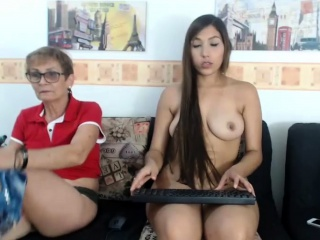 Shy Asian Mature Shows Off On A Private Webcam